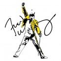 Freddie Mercury s autogramem - tričko