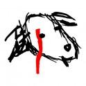 Psí hlava - Olivka - tričko